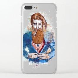 Ceci n'est pas une pi Clear iPhone Case