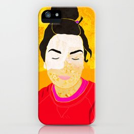 She is the ocean iPhone Case