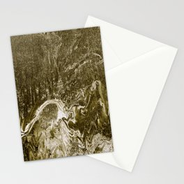 Gold Lucid Stationery Cards
