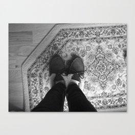 Winter Feet. Canvas Print