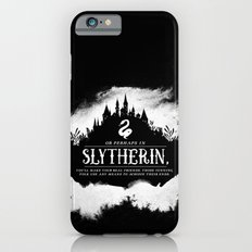 Slytherin B&W iPhone 6s Slim Case