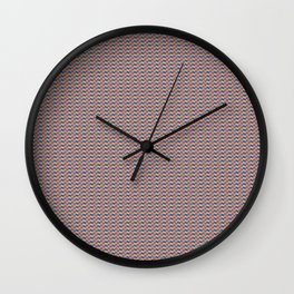 the balence of America flags Wall Clock