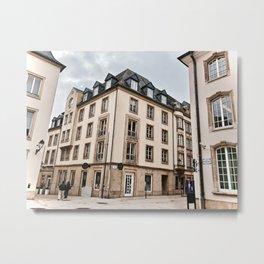 Europe streets Metal Print