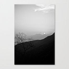 Hong Kong Sun Canvas Print