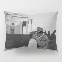 Collage Á bout de souffle (Breathless) - Jean-Luc Godard Pillow Sham