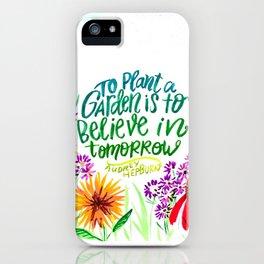 The Garden Of Tomorrow iPhone Case