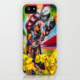 High Line Kiss iPhone Case