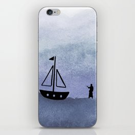 Walking on Water iPhone Skin