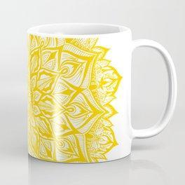 Snowflake-Yellow Coffee Mug