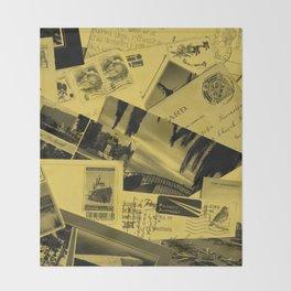 Postcards Throw Blanket