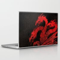 dragons Laptop & iPad Skins featuring Dragons by Narwen