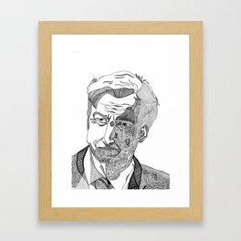 jimm mcgill - better call saul - abstract Framed Art Print