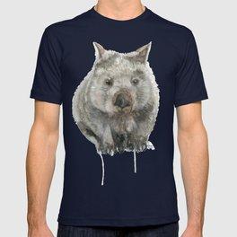 Wombat watercolour T-shirt