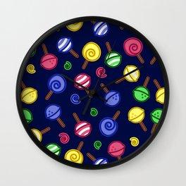 Pattern - Lollipop Wall Clock