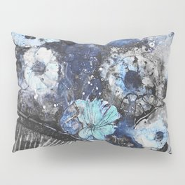flowers in bicycle basket Pillow Sham