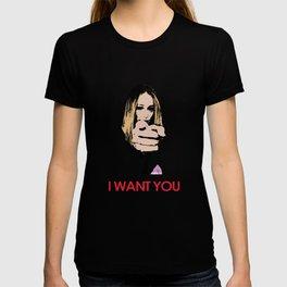 """I want you"" Alycia Debnam Carey T-shirt"