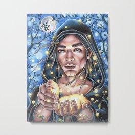 Firefly Fairy Metal Print
