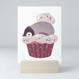 Cookie & cream & penguin Mini Art Print