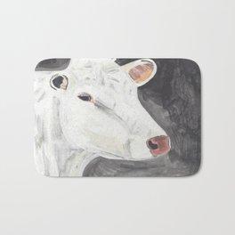 White Cow Bath Mat