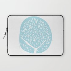 Tree of life - baby blue Laptop Sleeve