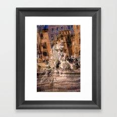 Piazza Navona 1 Framed Art Print