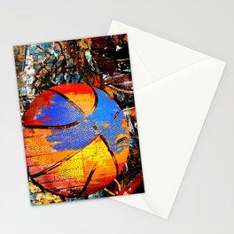 Baketball art swoosh 63 Stationery Cards