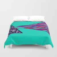 prism Duvet Covers featuring Prism by Kate Shea