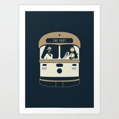 Urban Fae — TTC Streetcar Art Print