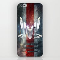 n7 iPhone & iPod Skins featuring N7 Spectre by Toronto Sol
