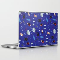 gym Laptop & iPad Skins featuring Gym Life by Morris and Norris