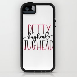 Betty and Jughead Bughead iPhone Case