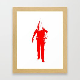KKKop (red edition) Framed Art Print