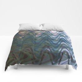 Blue Waves Comforters