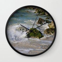Crash and Splash Wall Clock