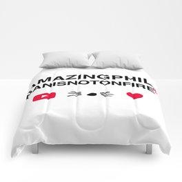 Amazingphil and danisnotonfire Comforters