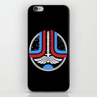 league iPhone & iPod Skins featuring Star League by Adrian Sipe