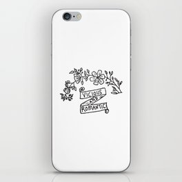 Vicious and Romantic iPhone Skin