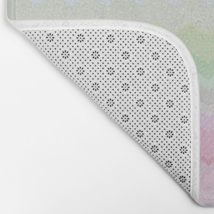 Rainbow pattern Bath Mat