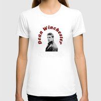 dean winchester T-shirts featuring Family Business - Dean Winchester by Fandom GoodieZ
