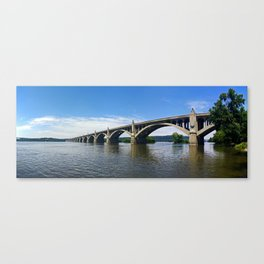Wrightsville Columbia Memorial Bridge Canvas Print