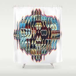 Hypnotized Shower Curtain