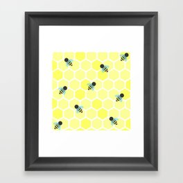 Oh Honey Framed Art Print