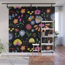 Mod Garden Wall Mural