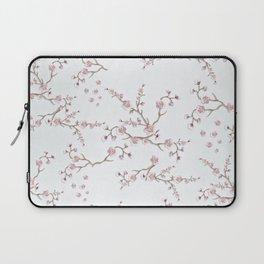 SAKURA LOVE - GRUNGE WHITE Laptop Sleeve