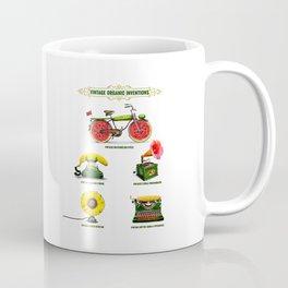 ORGANIC INVENTIONS SERIES: Vintage Organic Inventions Coffee Mug