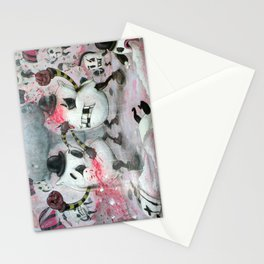 Pillow Fight!!! Stationery Cards