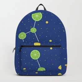 Citrus constellations Backpack