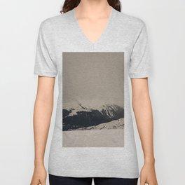 Mont Blanc vintage Unisex V-Neck