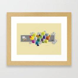 NP 001 Framed Art Print