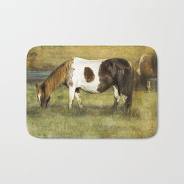Pony with Copper Mane - Chincoteague Pony Bath Mat